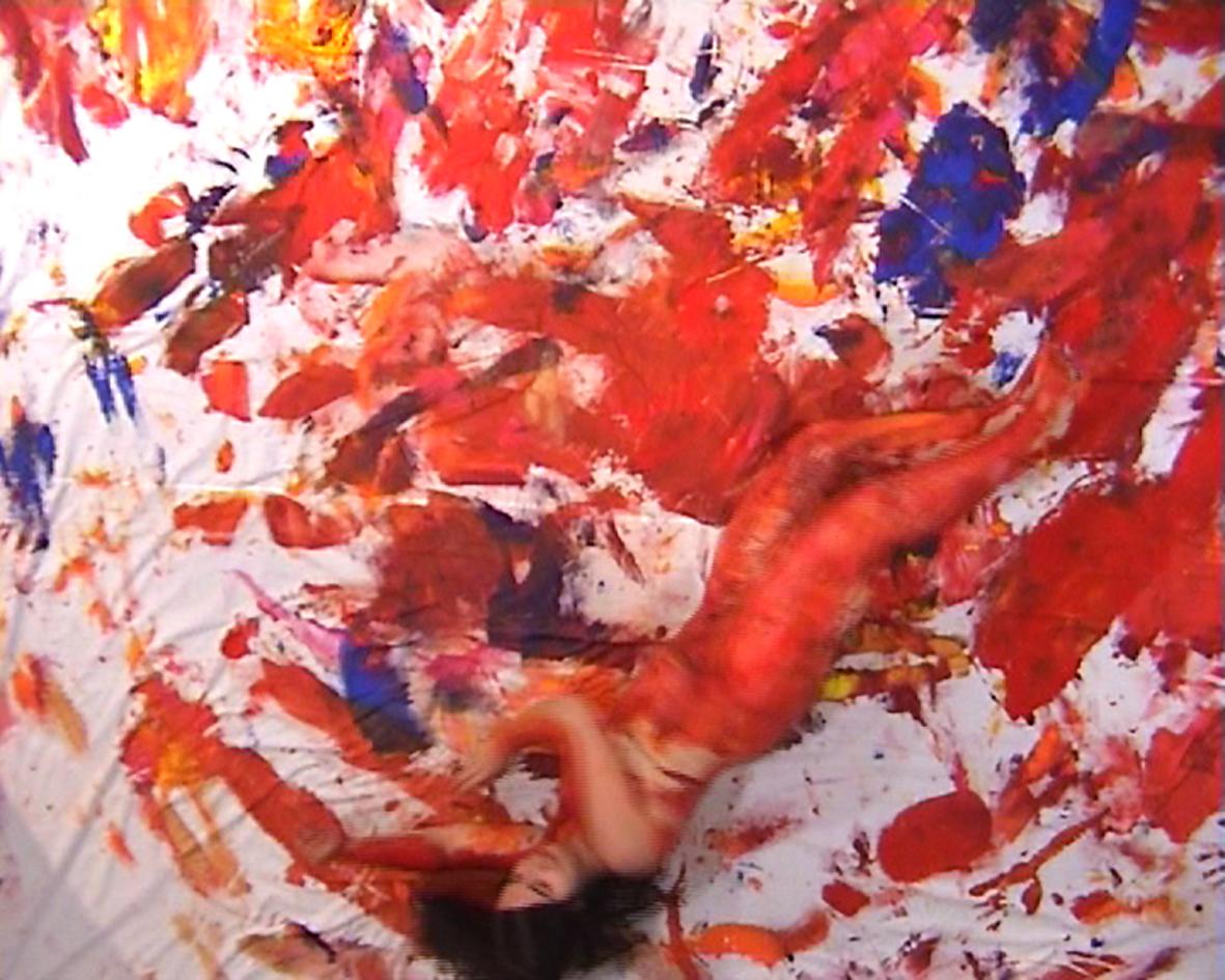 "Anka Leśniak, ""Action Painting"", 2008 (źródło: materiały prasowe organizatora)"