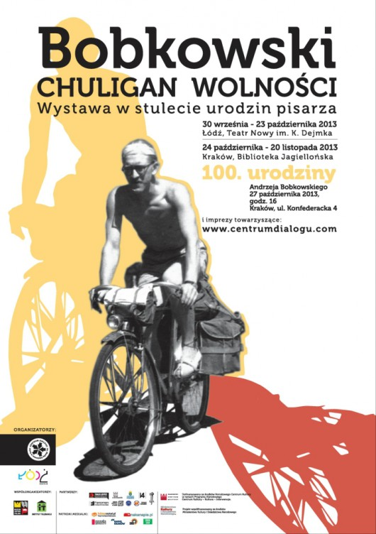 """""""Bobkowski. Chuligan wolnośći"""" – plakat (źródło: materiały prasowe)"""