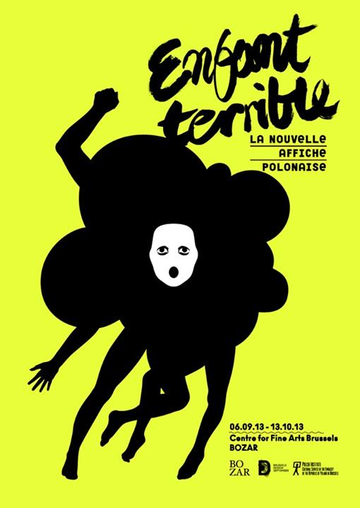 """""""Enfant terrible. Nowy plakat Polski"""", projekt: Fonarte (źródło: materiały prasowe)"""