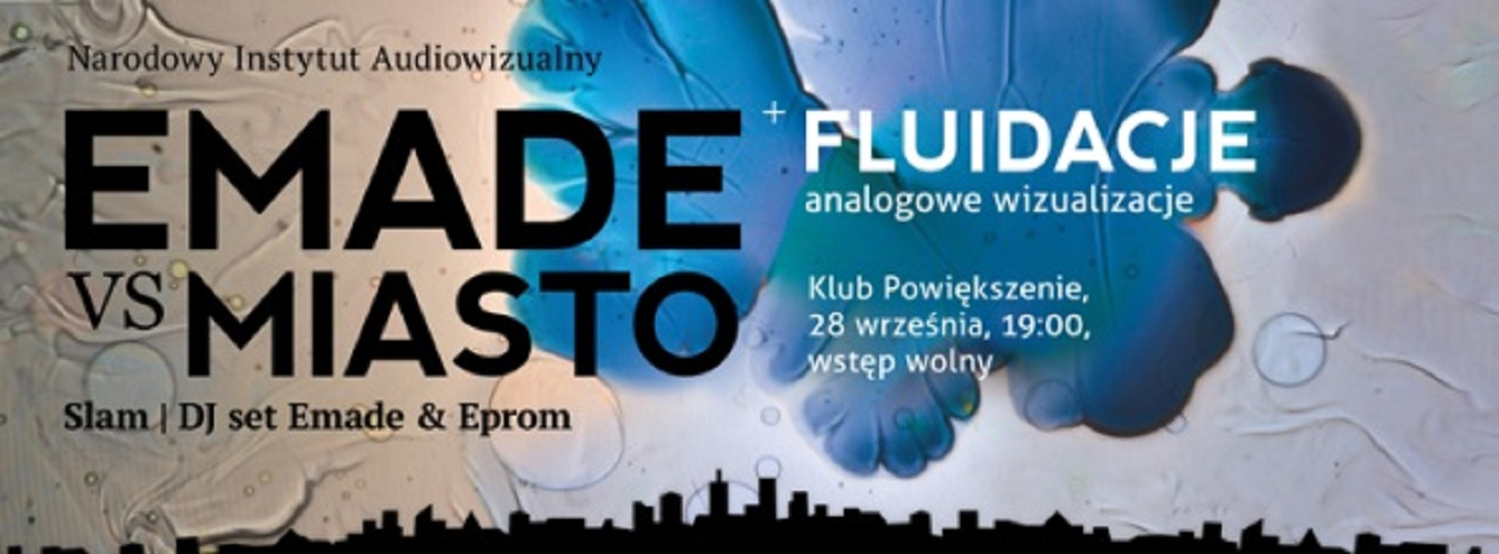 Emade vs Miasto, plakat (źródło: materiały prasowe organizatora)