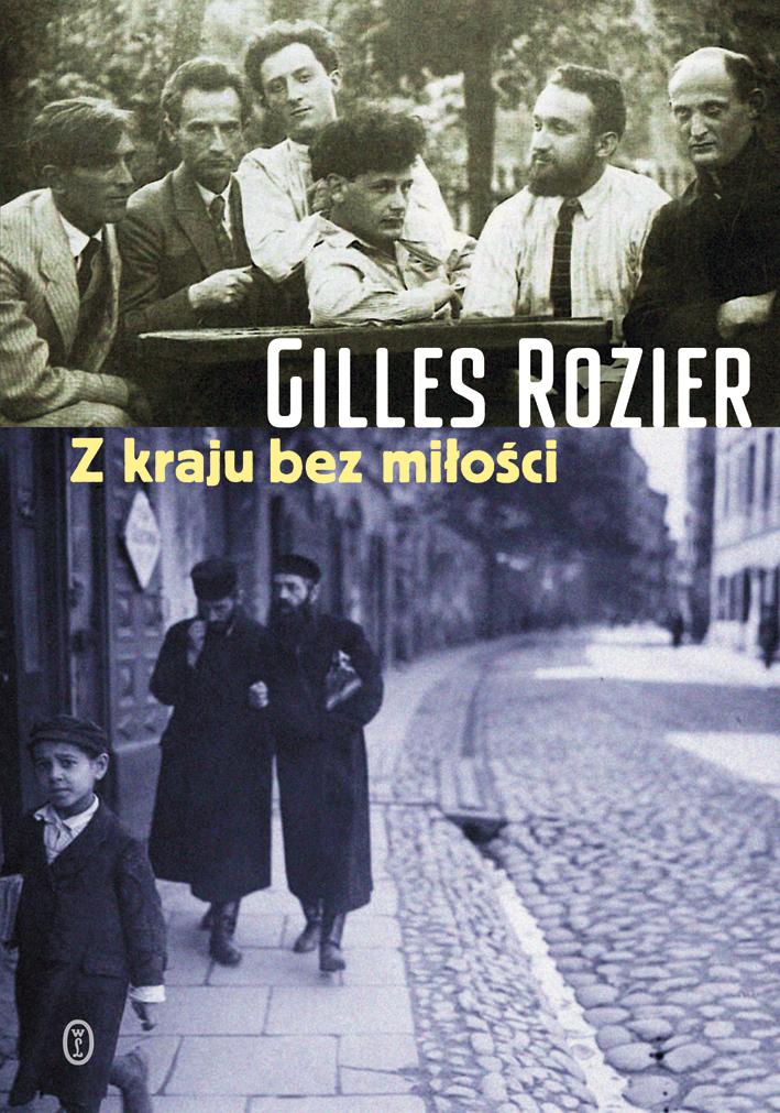 """Gilles Rozier """"Z kraju bez miłości"""" – okładka (źródło: materiały prasowe)"""