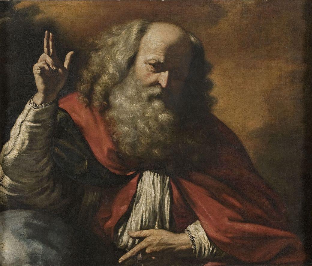 """Guercino, 1591–1666, """"Bóg Ojciec"""", olej na płótnie, 93,3 x 111 cm, Muzeum Narodowe w Warszawie (źródło: materiały prasowe organizatora)"""