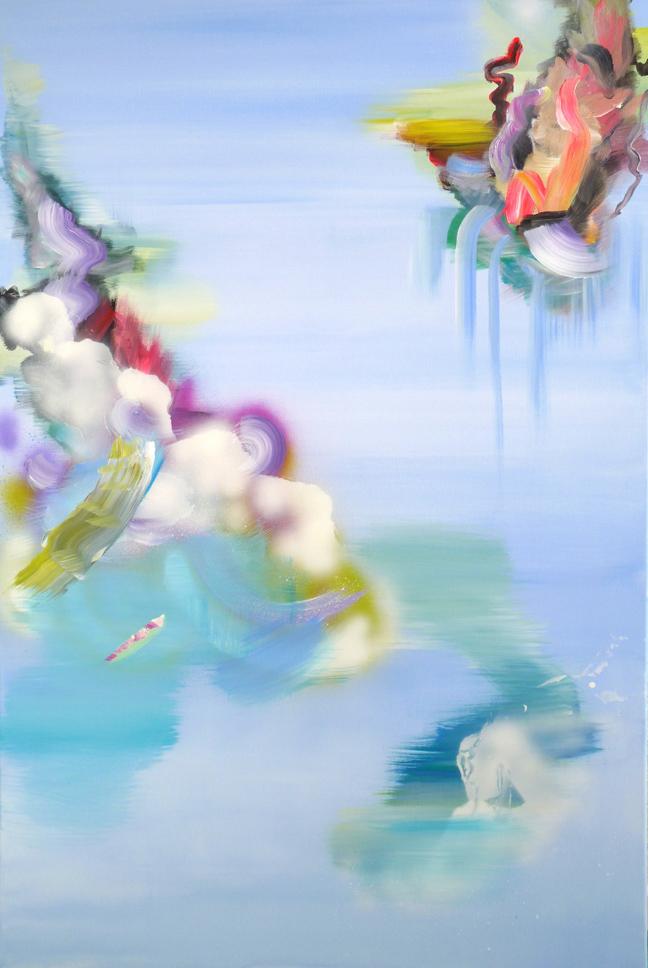"""Justyna Pennards-Sycz, """"Physalia Physalis uczy się latać"""", 2013 (źródło: materiały prasowe organizatora)"""