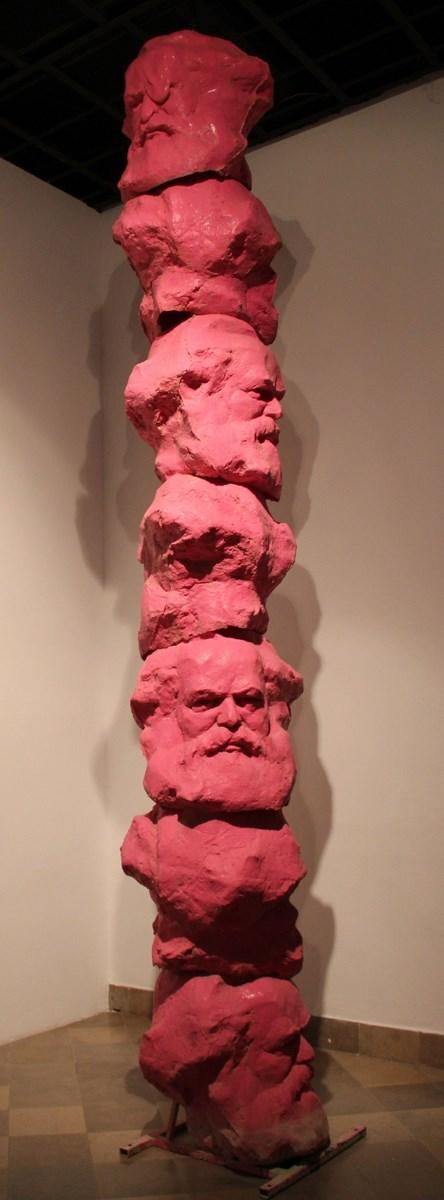 """Krzysztof M. Bednarski, """"Fontanna Marksa"""", 2011 (źródło: materiały prasowe organizatora)"""