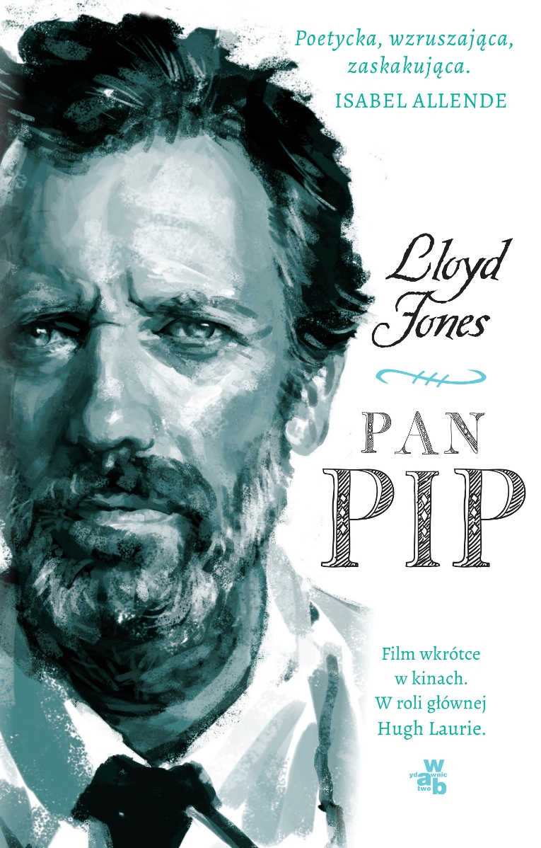 "Lloyd Jones ""Pan Pip"" – okładka (źródło: materiały prasowe)"