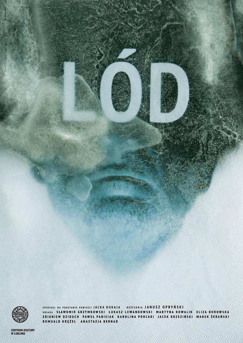 """""""Lód"""", plakat (źródło: mat. prasowe)"""