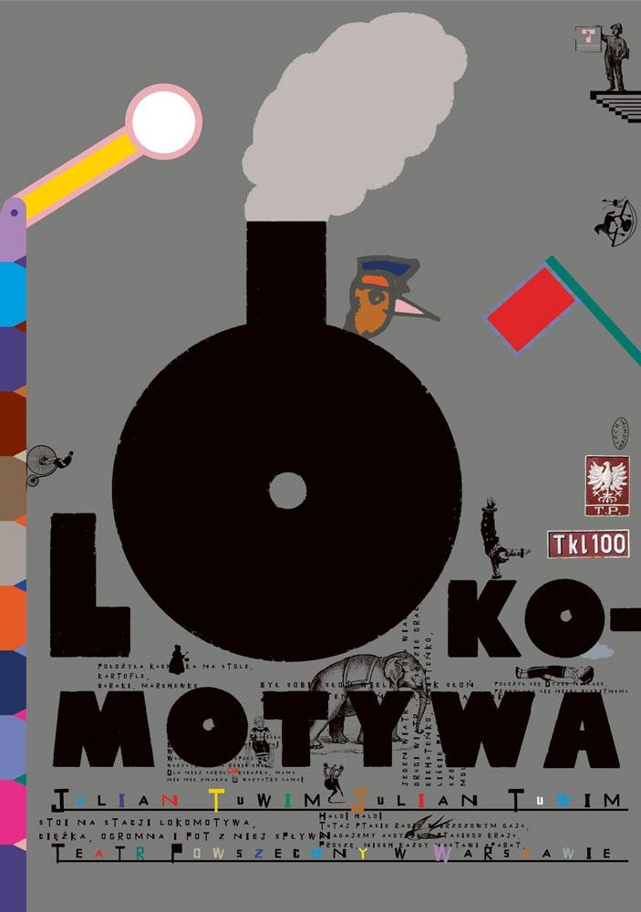 """""""Lokomotywa"""" (źródło: materiały prasowe Teatru Powszechnego im. Zygmunta Hübnera w Warszawie)"""