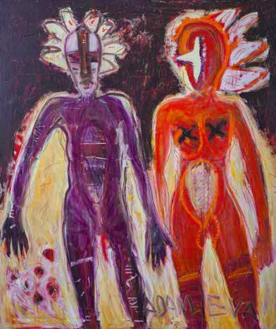 """Piotr Ambroziak, """"Adam i Ewa"""", 2012 (źródło: materiały prasowe organizatora)"""