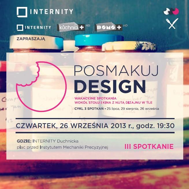 Posmakuj design (źródło: materiały prasowe organizatora)