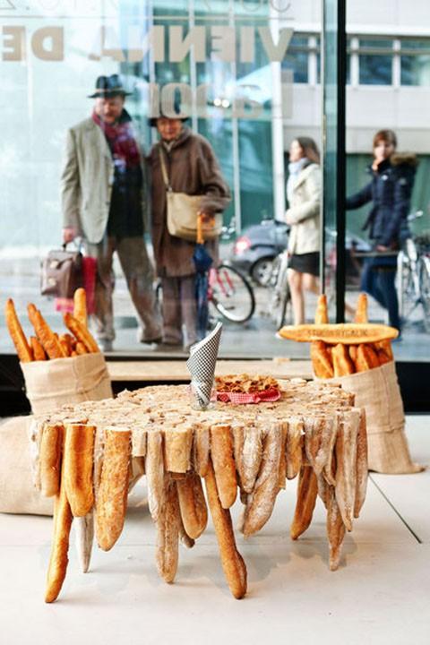 Studio Rygalik: Baguette Tables / Vienna Design Week (źródło: materiały prasowe organizatora)