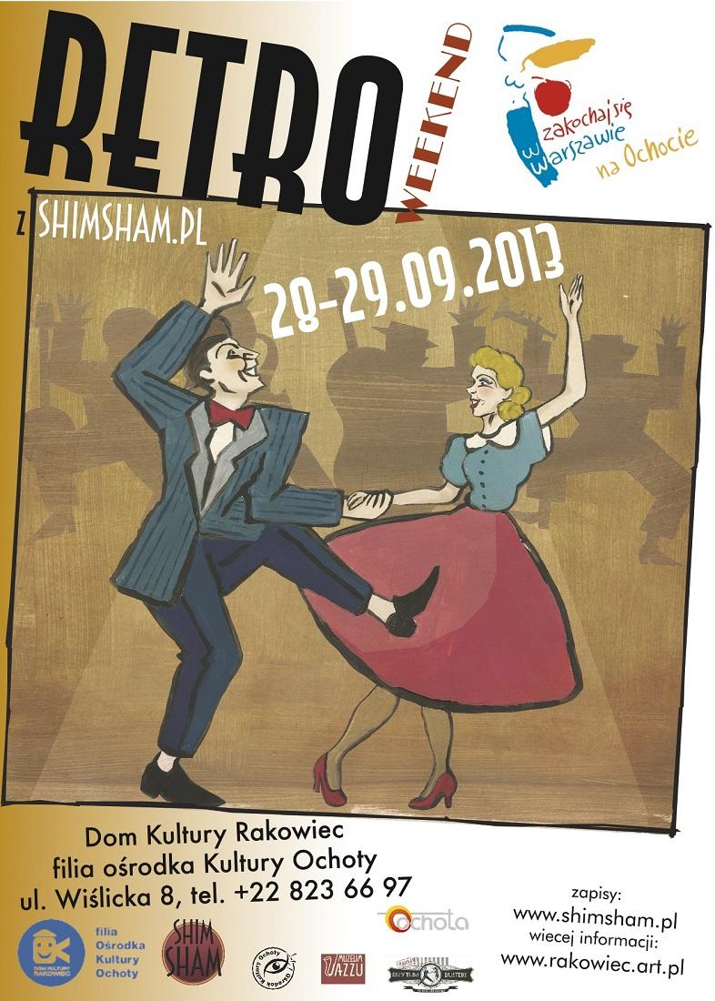 Retro Weekend, plakat (źródło: mat. prasowe)