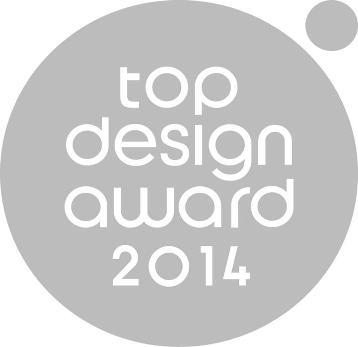 TOP DESIGN award 2014, logo (źródło: materiały prasowe organizatora)