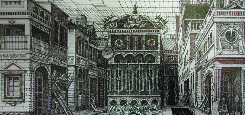 Wiesław Dembski – Rysunki. Architektura zdarzeń (źródło: materiały prasowe organizatora)