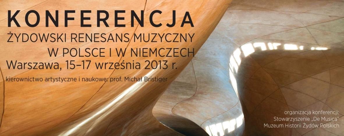 """""""Żydowski renesans muzyczny w Polsce i Niemczech"""" (źródło: materiały prasowe)"""