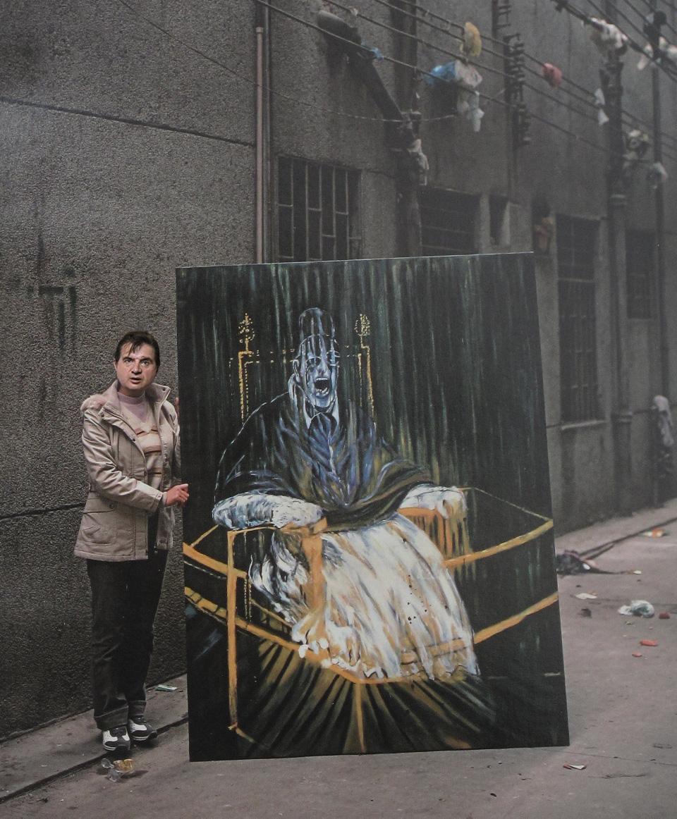 """Fot. Andreas Schmidt, """"Francis Bacon"""" (źródło: materiały prasowe organizatora)"""
