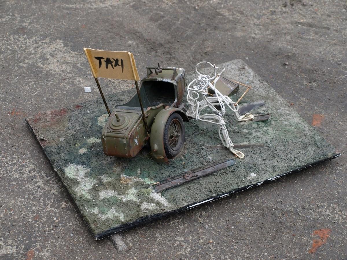 """Andrzej Jarodzki, """"075B Taxi"""" (źródło: materiały prasowe organizatora)"""