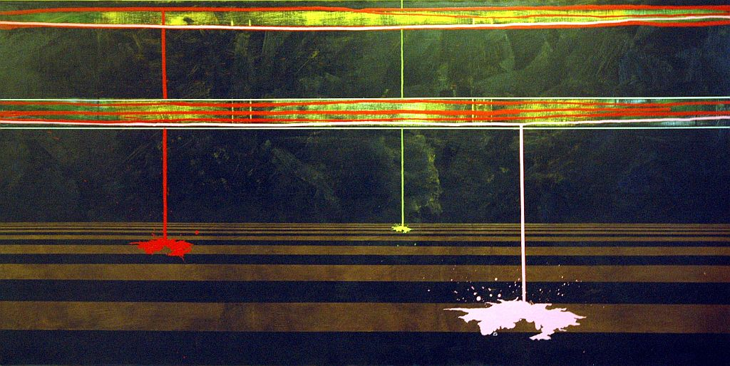 """Bartłomiej Żurowski, """"Harmonia przestrzeni IV"""", 2012, 90 x 180 cm, fot. Archiwum Galerii Bielskiej BWA (źródło: materiały prasowe organizatora)"""