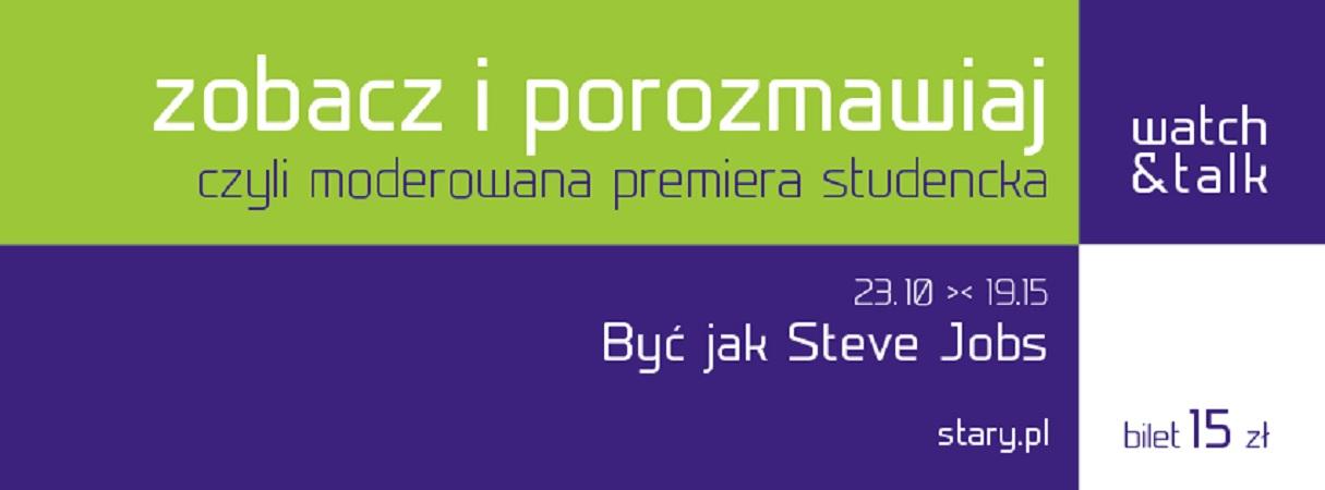 """Być jak Steve Jobs"", logo (źródło: mat. prasowe)"