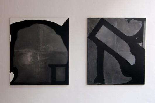 Cezary Poniatowski, Bez tytułu, akryl na płótnie, 2013 (źródło: materiały prasowe organizatora)