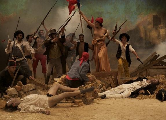 """Cristina Lucas, """"La Liberté Raisonnée"""", 2009, wideo, 4 min 18 s, dzięki uprzejmości artystki (źródło: materiały prasowe organizatora)"""