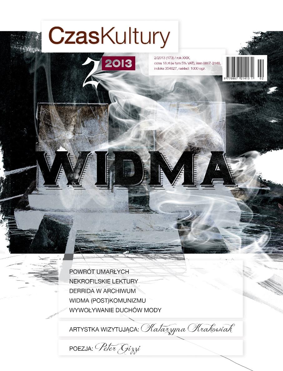"""""""Czas Kultury"""" nr 2/2013 (173) – okładka (źródło: materiały prasowe)"""
