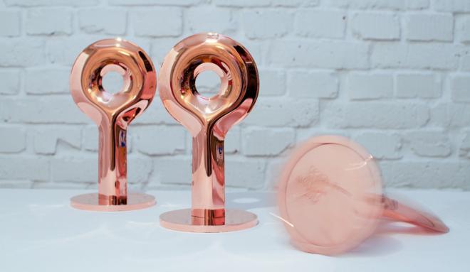 Statuetki Design Alive Awards, fot. Wojciech Trzcionka (źródło: materiały prasowe organizatora)