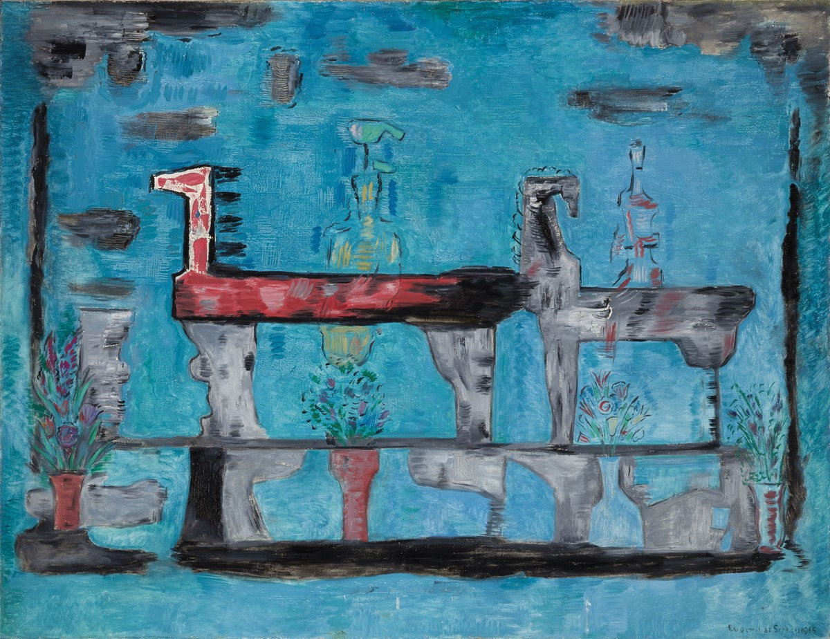 """Eugeniusz Geppert, """"Amazonka"""", 1965 (źródło: materiały prasowe organizatora)"""