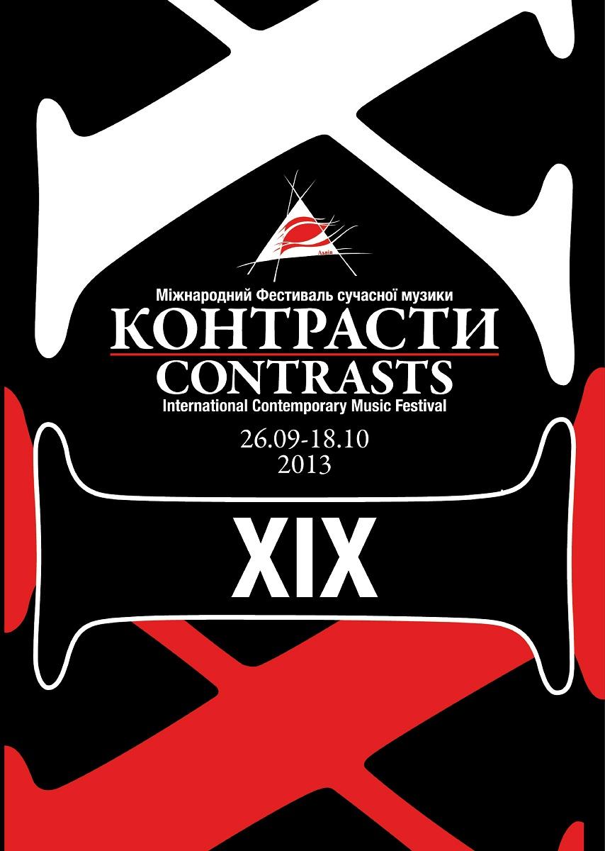 XIX Festiwal Muzyki Współczesnej Kontrasty, plakat (źródło: mat. prasowe)