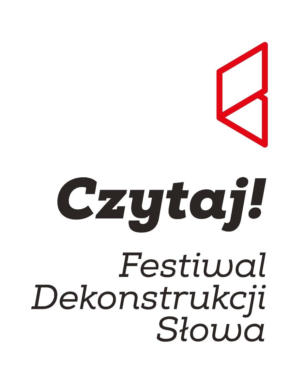 """Festiwal Dekonstrukcji Słowa """"Czytaj!"""" – logo (źródło: materiały prasowe)"""