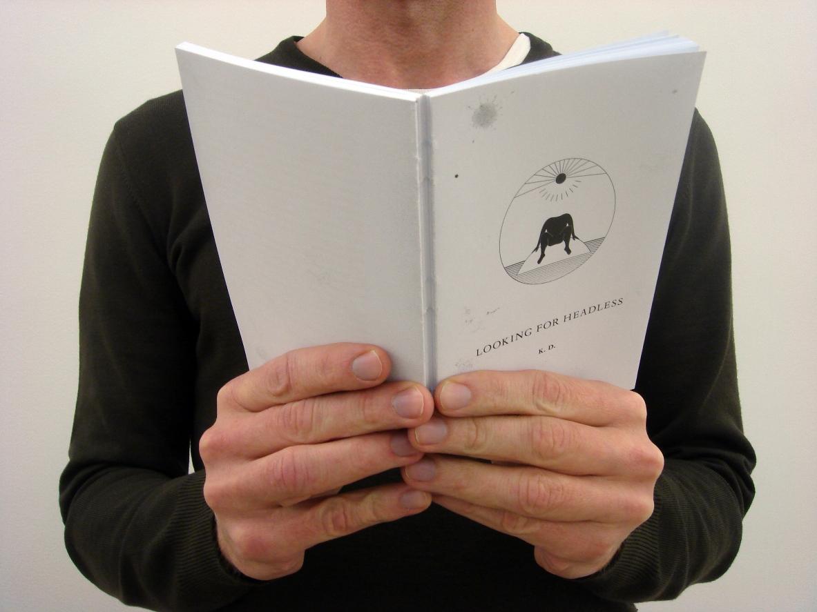 """Goldin+Senneby, """"Looking for Headless"""" by fictional author K.D, rozdziały 1–4, 2008 (źródło: materiały prasowe)"""