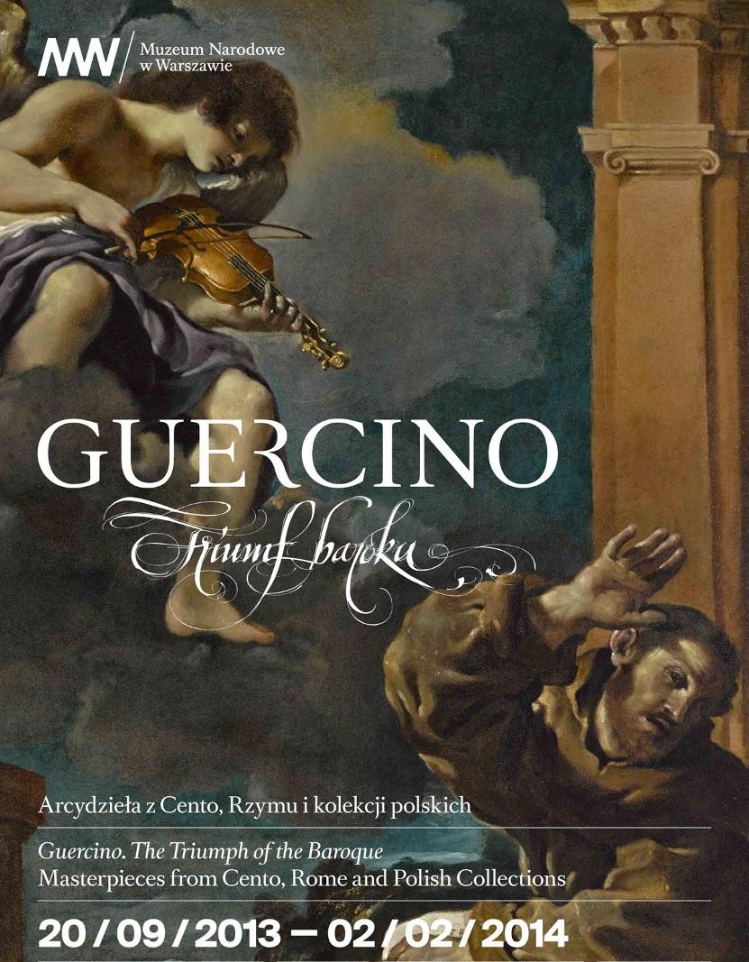 """""""Guercino. Triumf baroku"""" - Muzeum Narodowe w Warszawie - plakat (źródło: materiały prasowe muzeum)"""