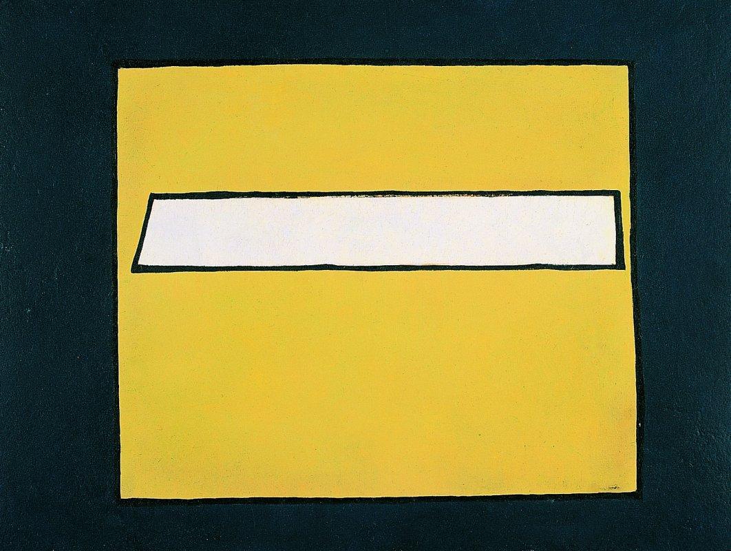 """Jerzy Nowosielski, """"Kompozycja abstrakcyjna"""", 1947, fot. dzięki uprzejmości Fundacji Nowosielskich (źródło: materiały prasowe organizatora)"""
