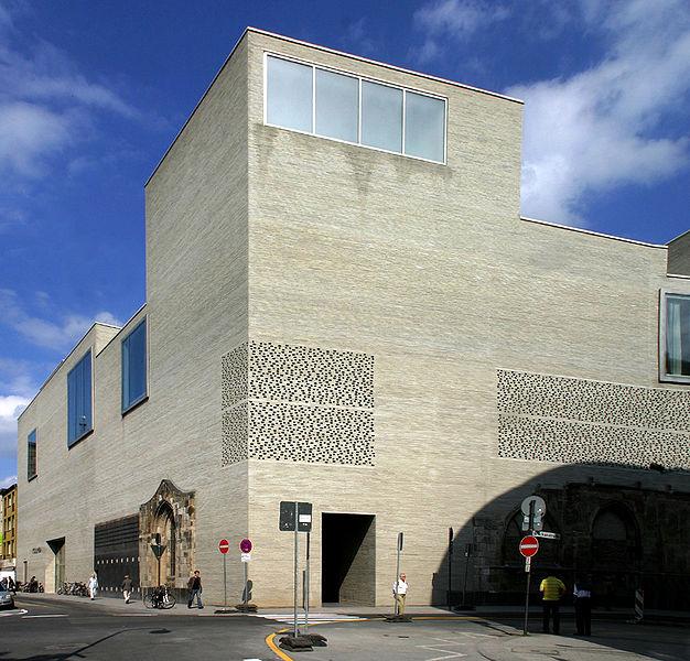 Muzeum Kolumba w Kolonii, proj. Peter Zumthor, fot. Elke Wetzig (źródło: Wikimedia Commons)