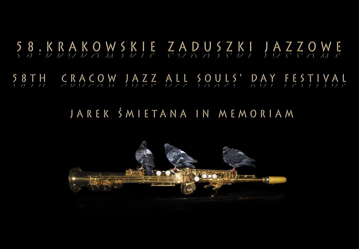 58. Krakowskie Zaduszki Jazzowe, baner (źródło: mat. prasowe)
