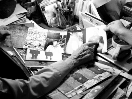 """Krzysztof Pijarski, na podstawie kadru z filmu """"Jerzy Lewczyński-Krzysztof Pijarski. Gra w Archiwum"""", 2011 (źródło: materiały prasowe organizatora)"""