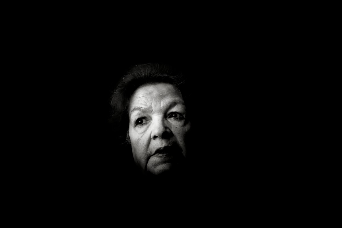 Fot. Maciek Nabrdalik (VII), Nieodwracalne, Danuta Bogdaniuk, KL Auschwitz - Birkenau and KL Ravensbruck survivor (źródło: materiały prasowe organizatora)