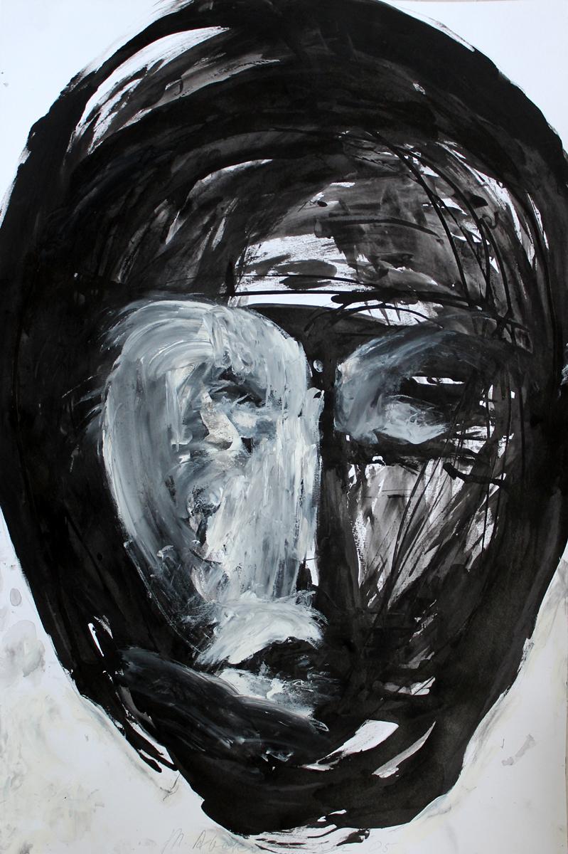 """Magdalena Abakanowicz, """"Maska"""" (źródło: materiały prasowe organizatora)"""