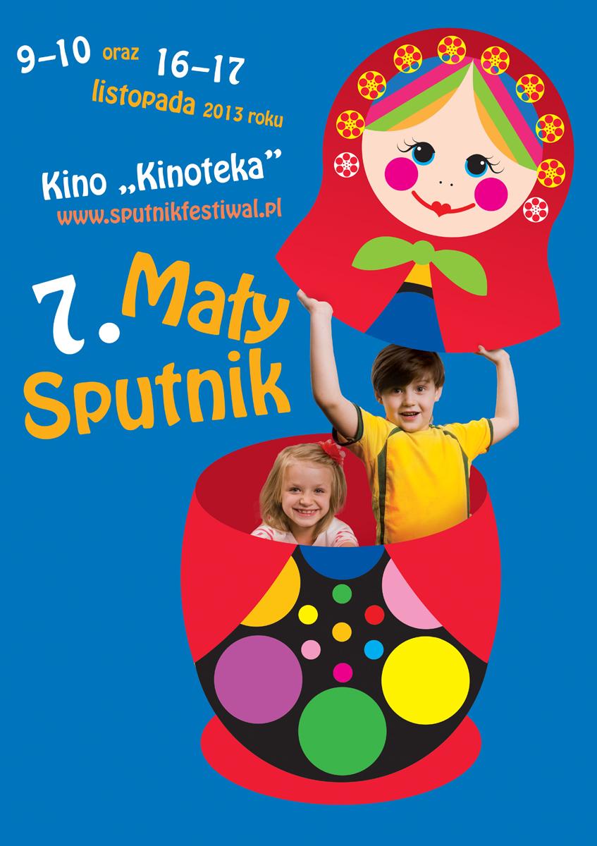 Mały Sputnik – plakat (źródło: materiały prasowe)