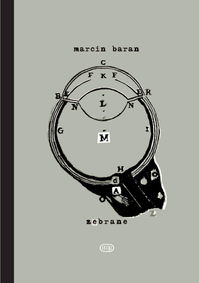 """Marcin Baran """"Zebrane"""" – okładka (źródło: materiały prasowe)"""