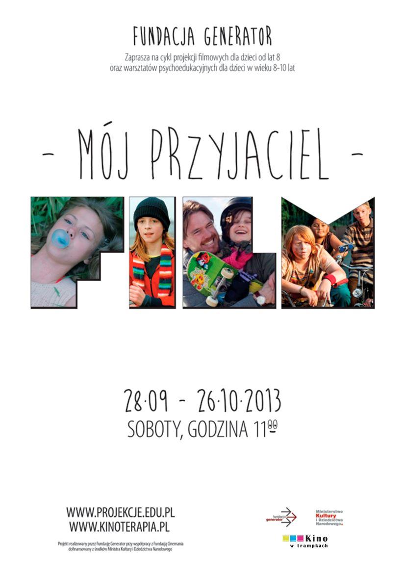 """""""Mój przyjaciel film"""" – plakat (źródło: materiały prasowe)"""