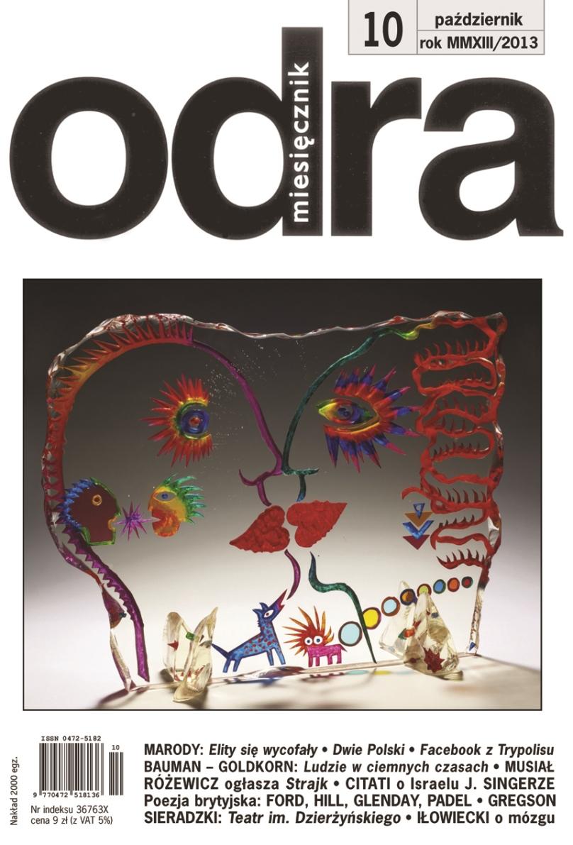 """""""Odra"""" nr 10 – okładka (źródło: materiały prasowe)"""