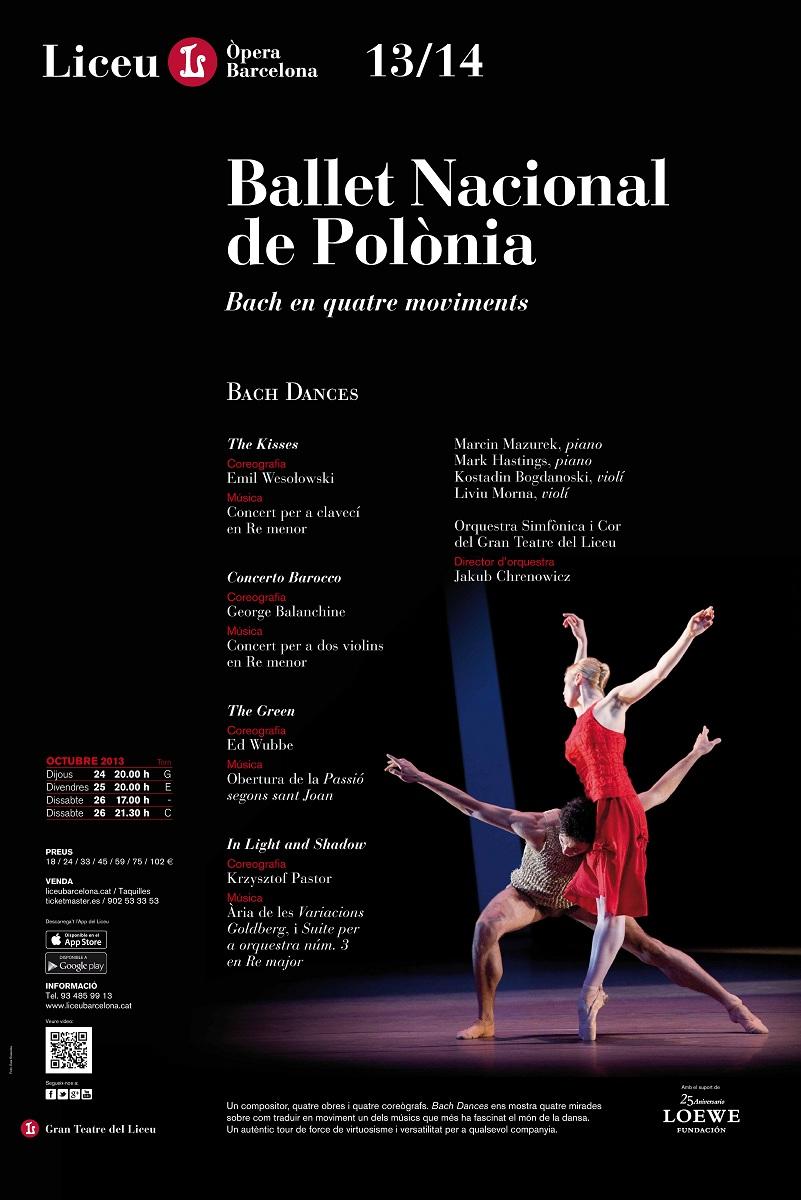 Bach Dances, Polski Balet Narodowy w Barcelonie, fot. Ewa Krasucka (źródło: mat. prasowe)