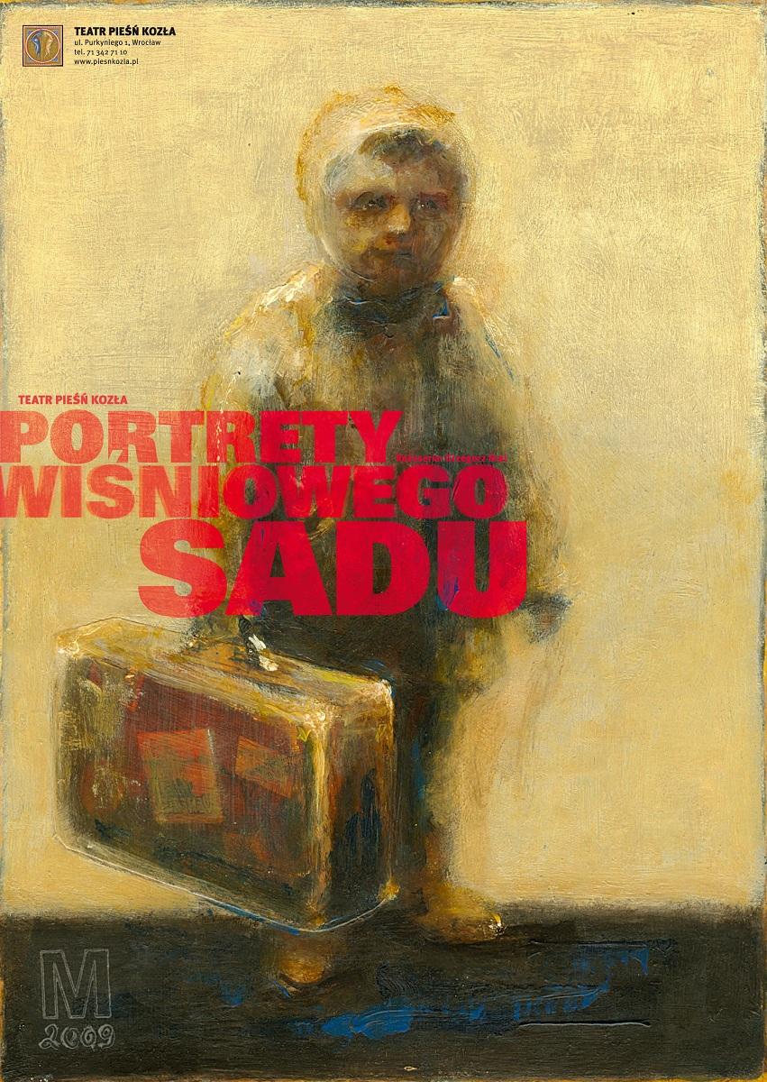 """""""Portrety Wiśniowego sadu"""", plakat (źródło: mat. prasowe)"""