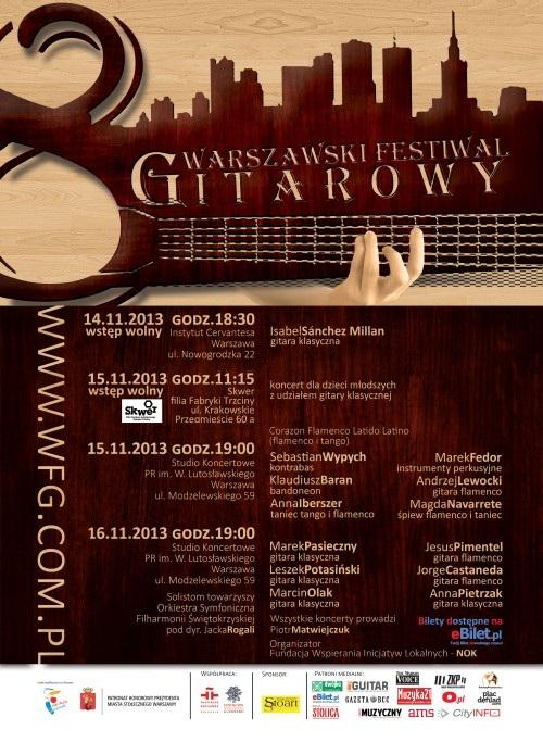 Warszawski Festiwal Gitarowy (źródło: mat. prasowe)