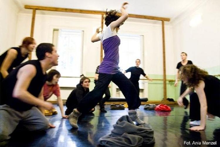 Warsztaty, pantomima, fot. Ania Menzel (źródło: mat. prasowe)