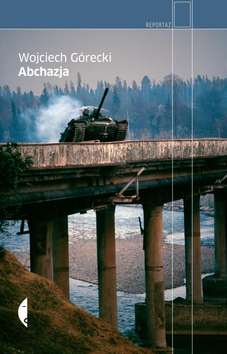 """Wojciech Górecki """"Abchazja"""" – okładka (źródło: materiały prasowe)"""