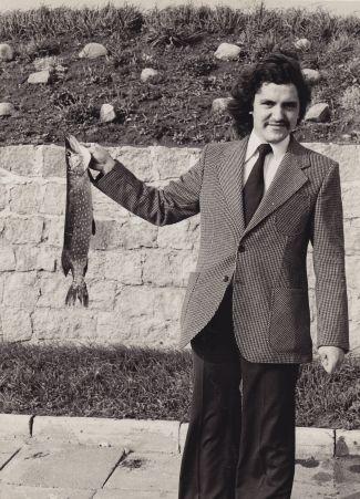 Portret Adama Rzepeckiego, lata 80. (materiały prasowe BWA SOKÓŁ)