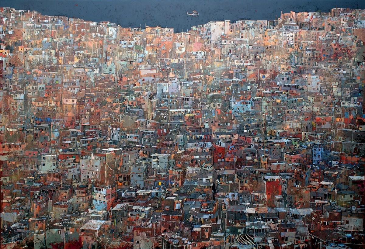 """Artur Przebindowski, """"Megalopolis VIII"""", 2010 (źródło: materiały prasowe organizatora)"""