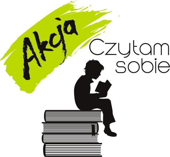 """""""Czytam sobie"""" – logo (źródło: materiały prasowe)"""