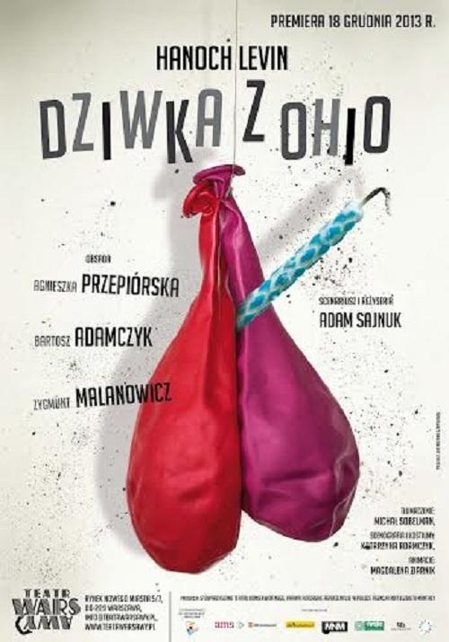 """""""Dziwka z Ohio"""", plakat (źródło: mat. prasowe)"""